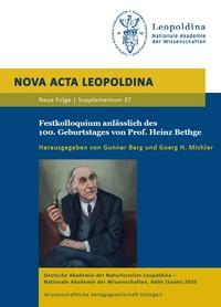 Festkolloquium 100.Geb. Prof.Bethge