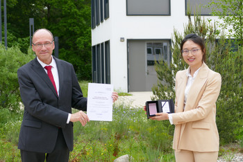 Bethge Preis 2020 Prof. Abetz Dr. Zhang